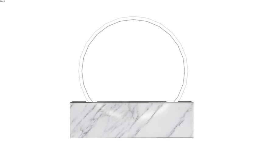 Sabine Marcelis Voie Medium White Marble