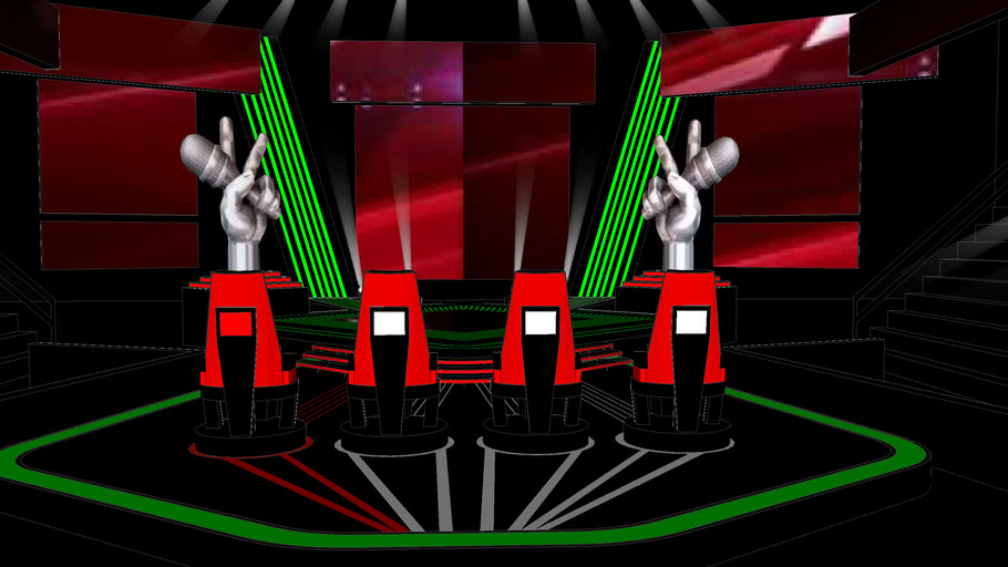 The Voice UAE Stage