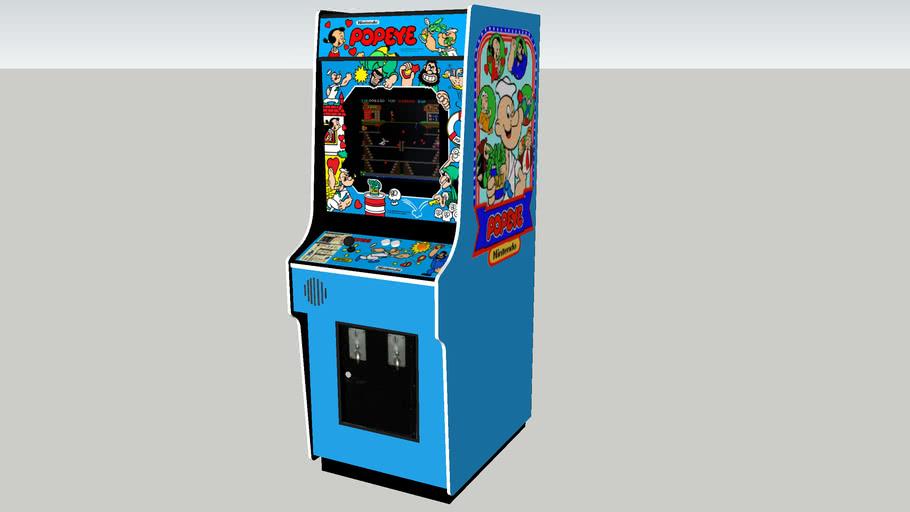 Popeye arcade game REV.2