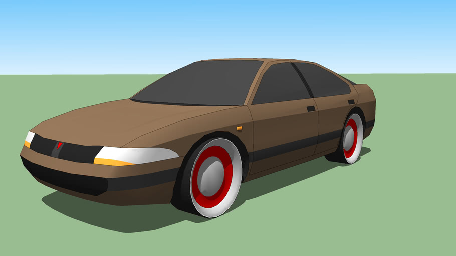Car I made by using Paul B's template