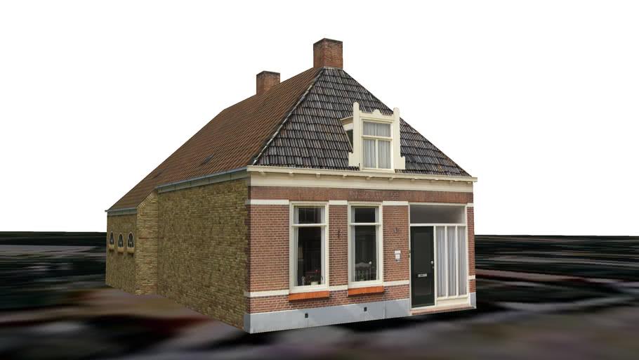 Ferwert - Hoofdstraat 9 'it Weinmakkershûs'