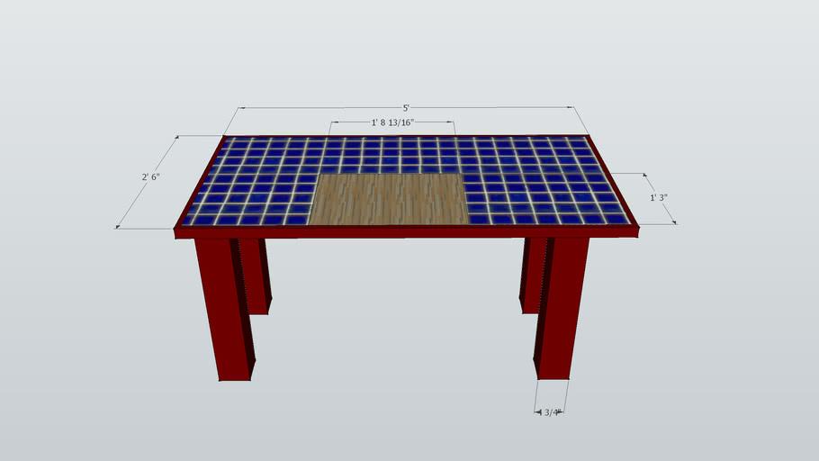 ketchin table