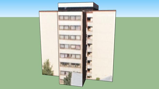 Budova, Bulovka 14, Praha 8, Česká republika