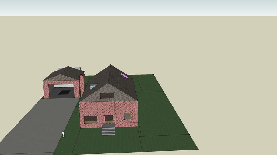 I was bored, so I made my house.