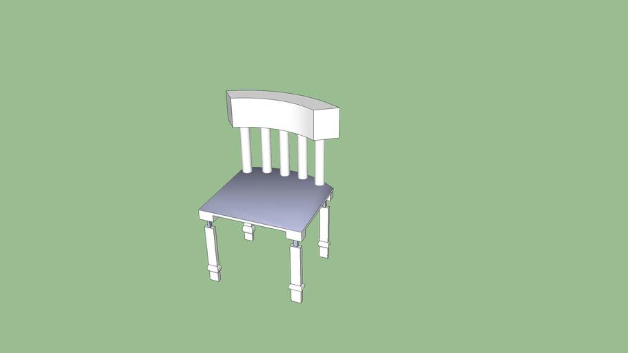 Detailed chair