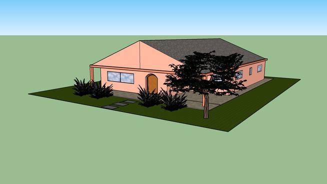 Casa de 266 m² com jardim