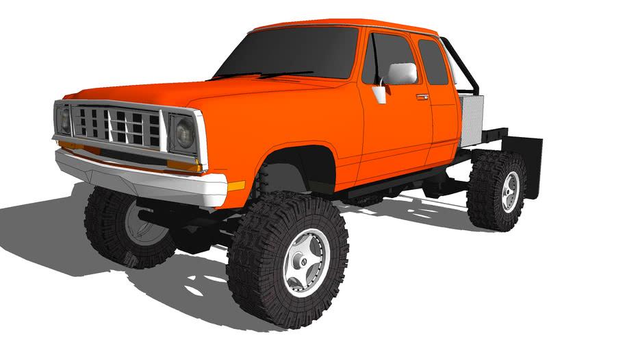 1974 Dodge D100 4x4