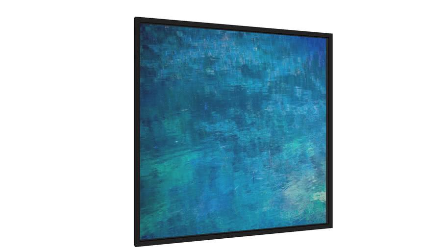 Quadro Shades of Blue - Galeria9, por Luciana Arena