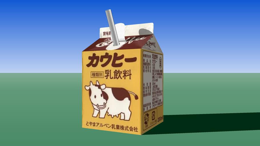 Cowffee Toyama Alpen Milk Inc (カウヒー とやまアルペン乳業)