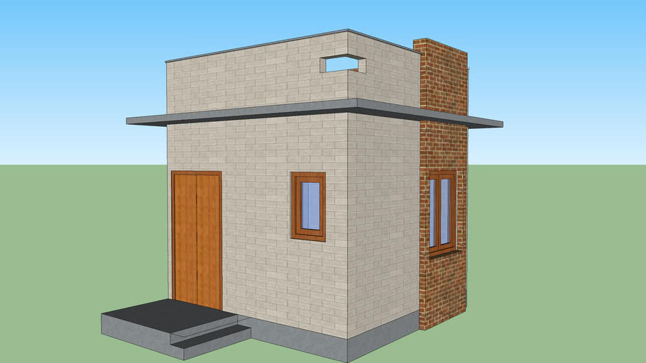 Simple one Room House