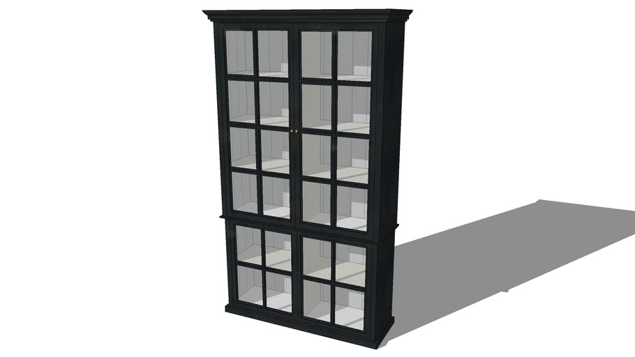 Bibliothèque DESCARTES noire, Maisons du monde. Réf: 129.847 Prix:1399€