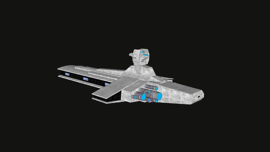 crucero estelar - spaceship