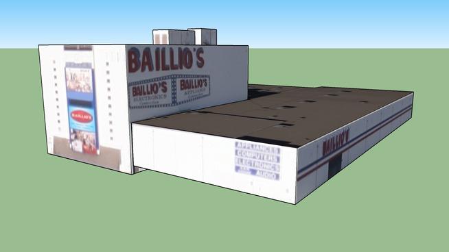 Baillio's Building in Albuquerque, NM, USA