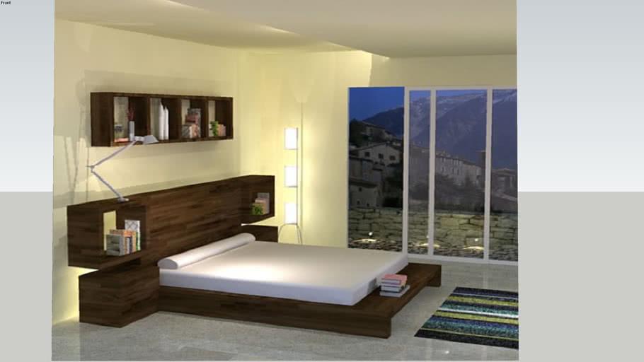 Interior Design Bedroom 3d Warehouse