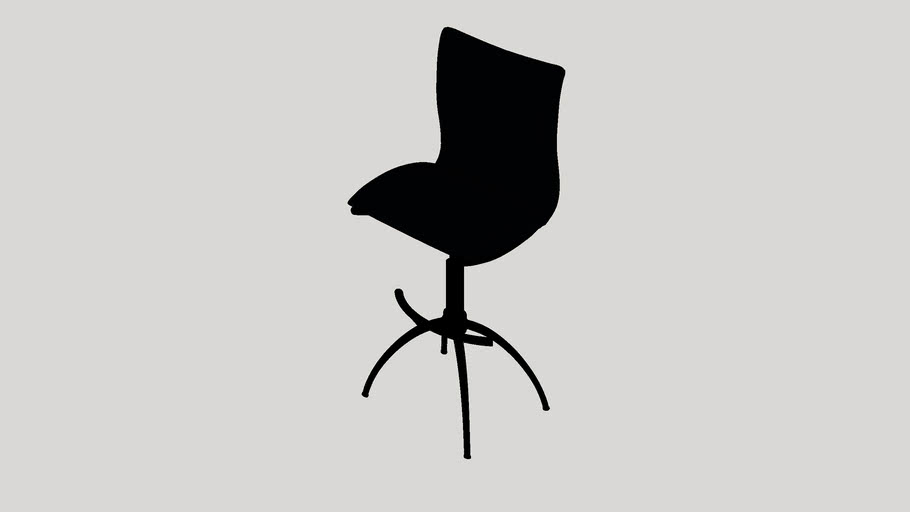 Shen Adjustable Height Swivel Bar Stool