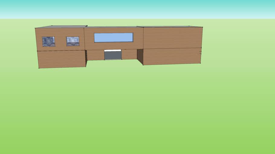 half built modern house for beginners