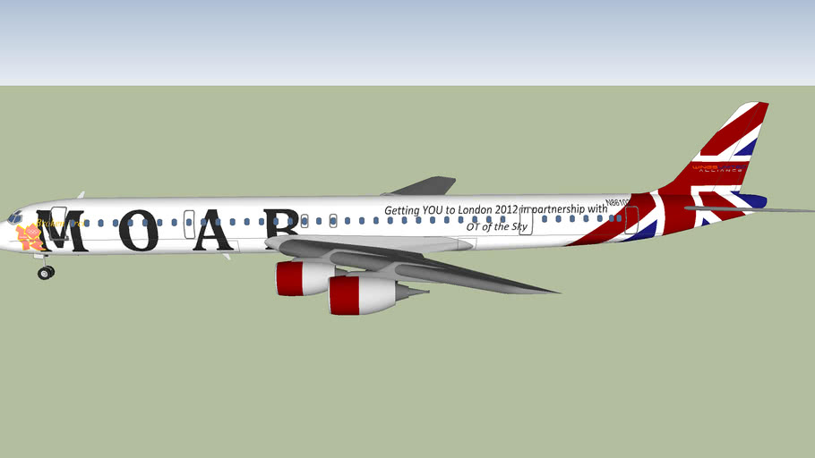 Moab International DC8 71 (2012) [FICTIONAL] Olympic cls