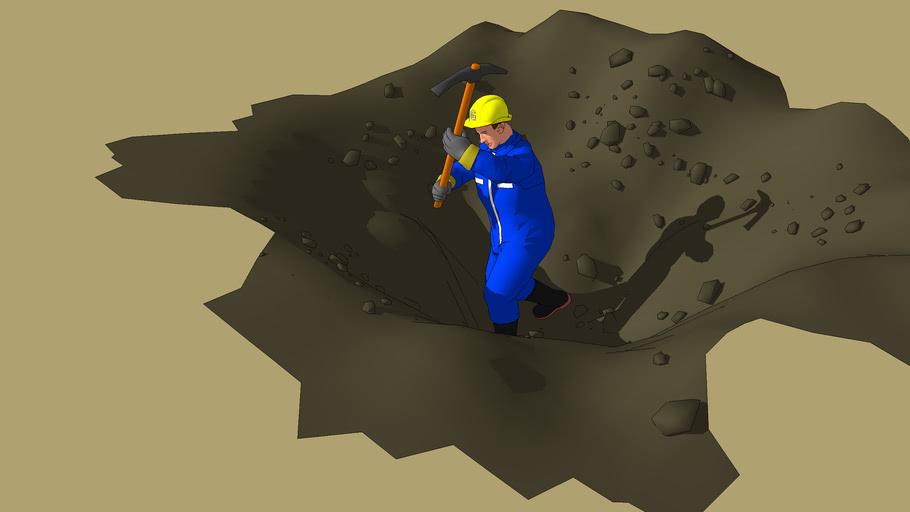 manual digging