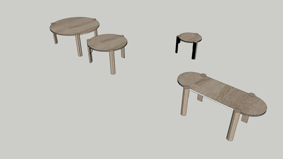 Domus coffee\side tables
