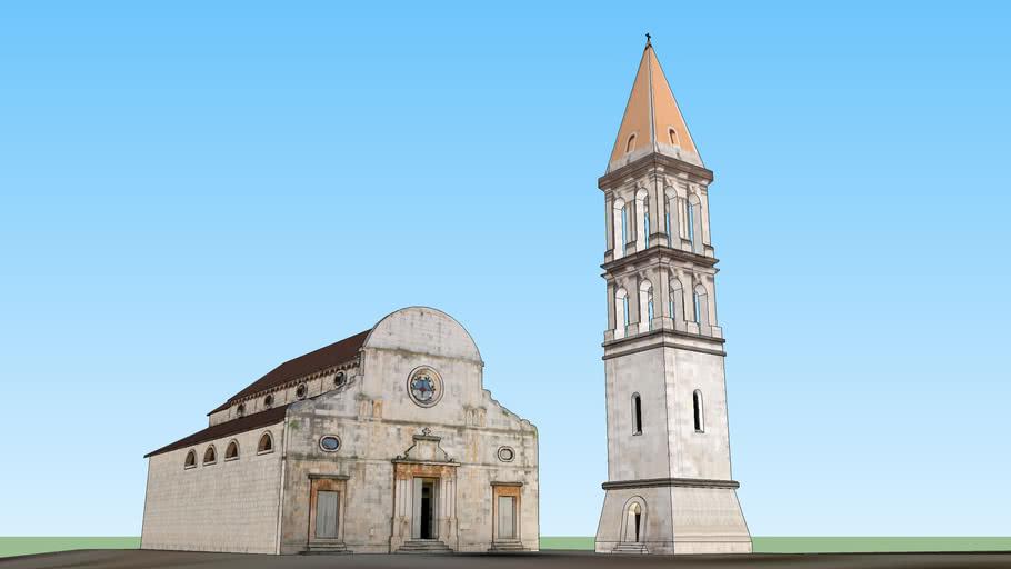 Sv. Stjepan church in Stari Grad on Hvar