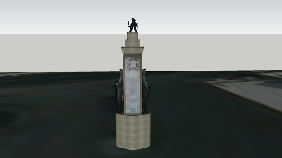 world war 1 memorial at bank