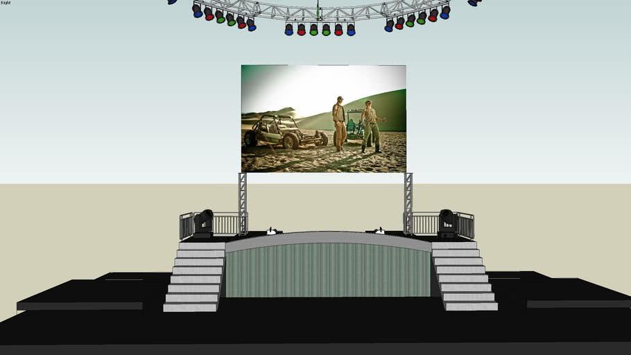La Revolucion World Tour 2009 (Wisin & Yandel Original Stage)