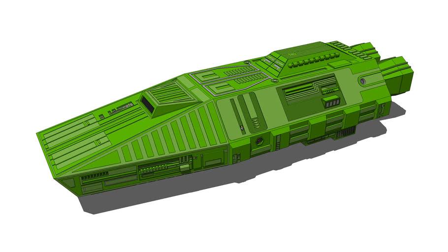 Blake's 7 Egrorian's Auto-Shuttle