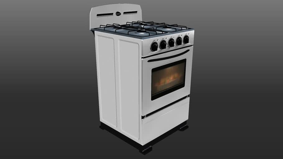 Cocina Cetron 20 Pulgadas - ECG2006 (Full scale - realistic Model).