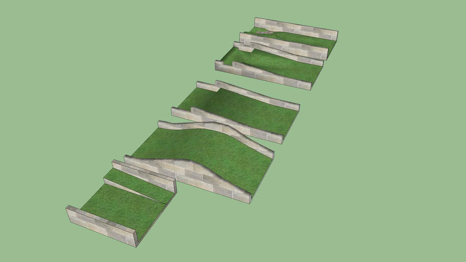 Hills and ramps