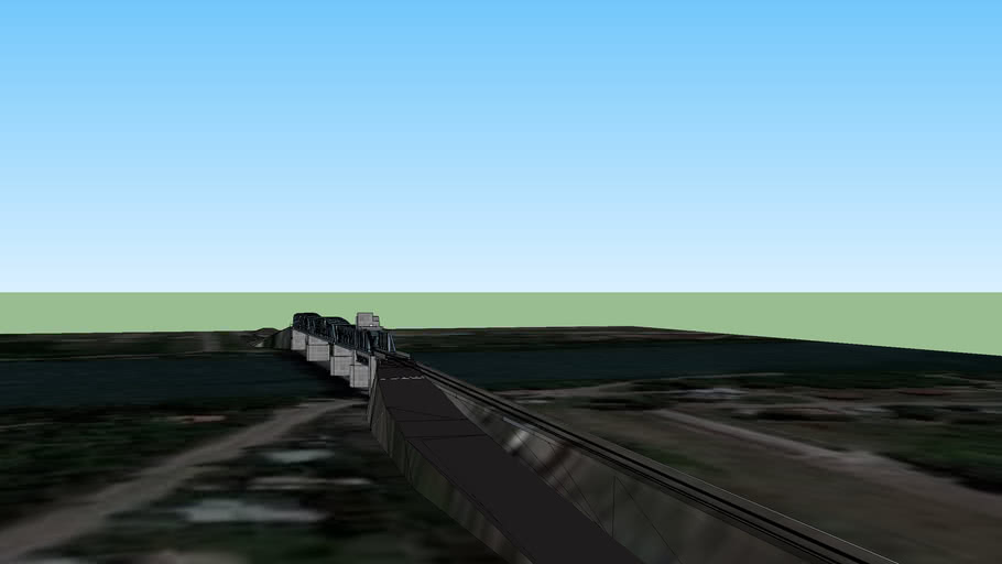 Puente Ferrocarretero Viedma - Carmen de Patagones
