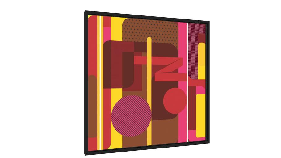Quadro Composição Geométrica 2 - Galeria9, por Farago