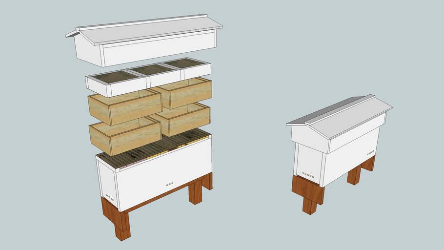 Thür Horizontal Topbar Hive (ex-Frankenhive)