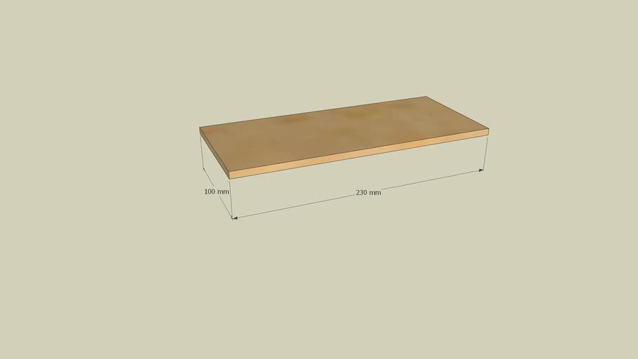 small elegant box layered and scenes