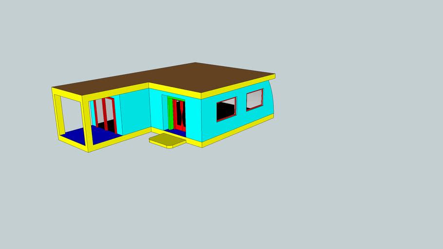 Hytte Forslag 1