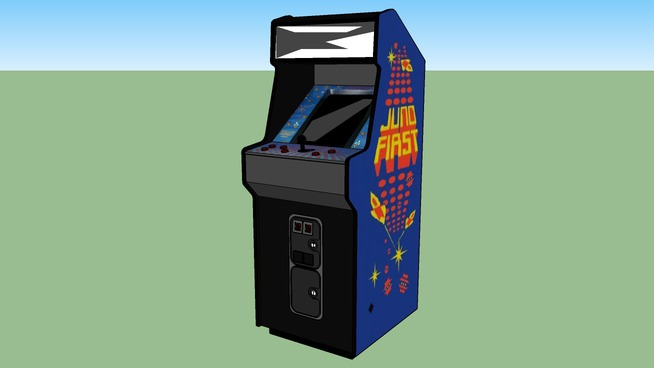 Juno First arcade game