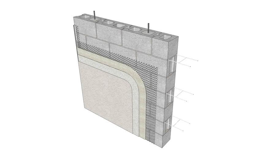Stucco Assembly - Concrete Masonry
