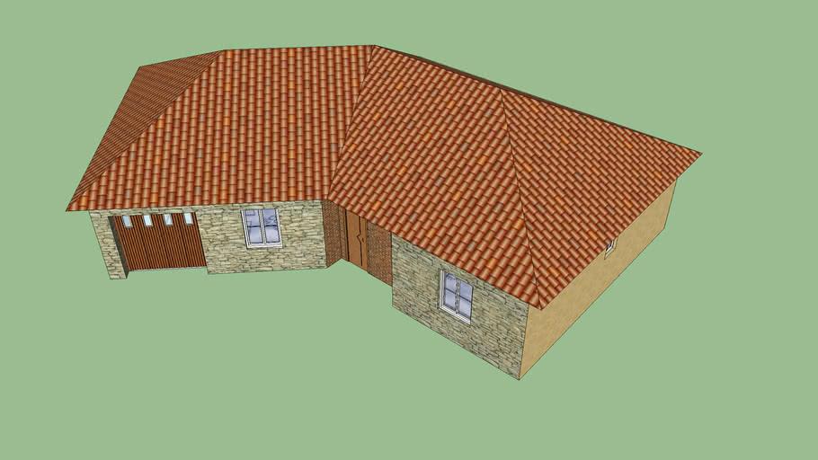 House (Model shtepie njekateshe)