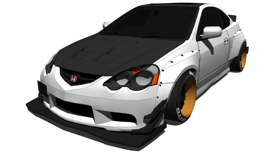 Honda - Integra Type R 2002 Wide Body v2