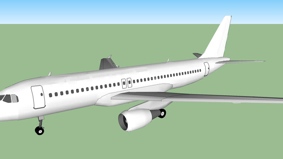 Template - Airbus A320-200