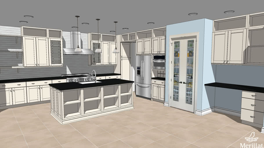 Kb Home Greenhouse Kitchen Builder Concept Home For Ibs 2011 3d Warehouse