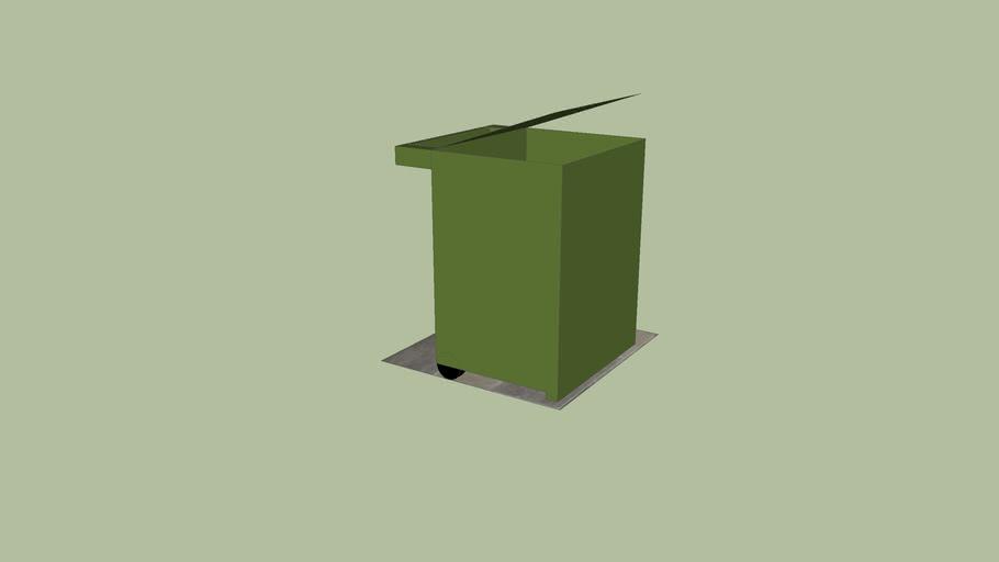 simple outdoor-bin