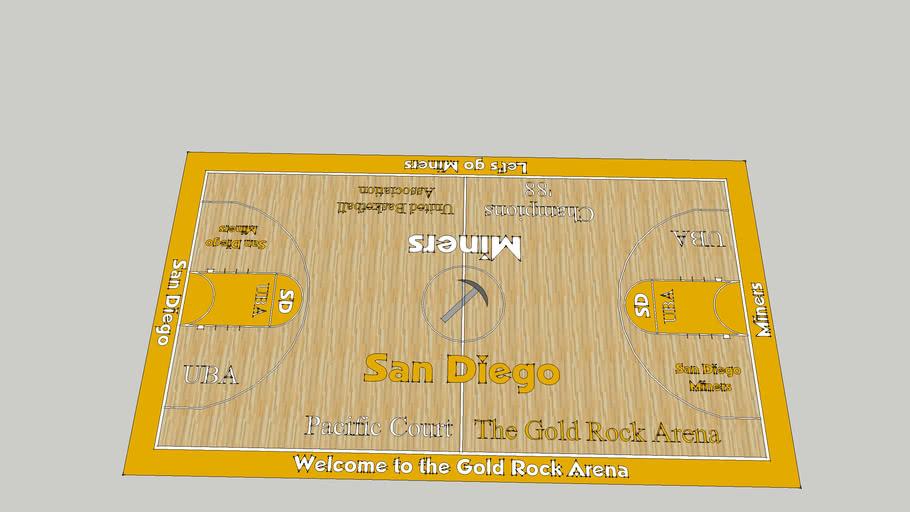 Basketball Court 16