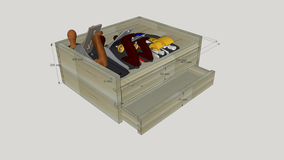 My Toolbox for Chisels and Planes Storage
