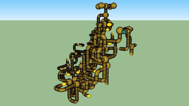 Andrea Amazing Plumbing labyrint
