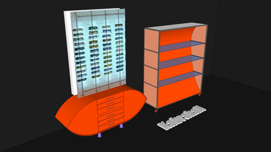 mobiliario para óptica Ricardo Moreno
