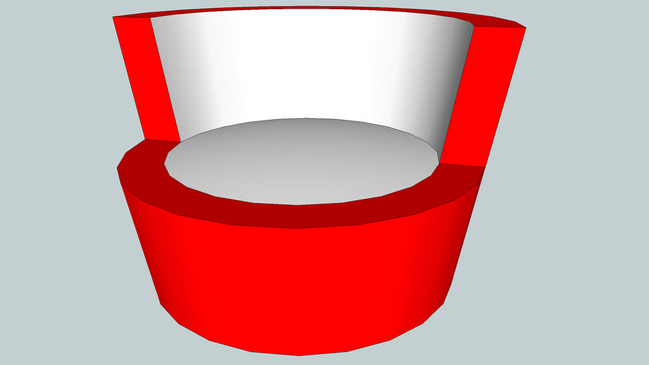 Funnel Shaped Chair