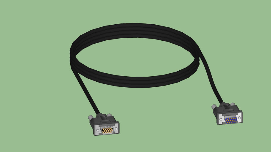 Tech Series - Video Cable - VGA - MALE TO FEMALE