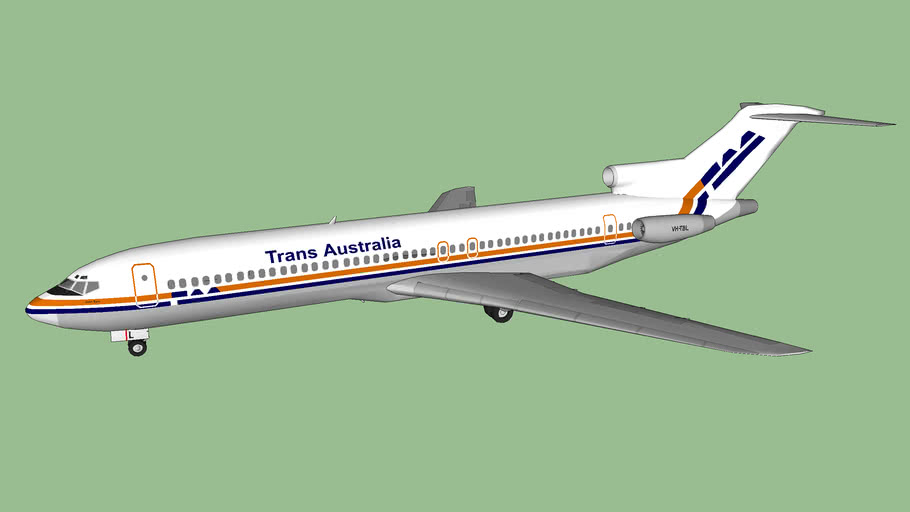 "TAA - Trans Australia Airlines 727-276/Adv ""John Eyre"" (1982)"
