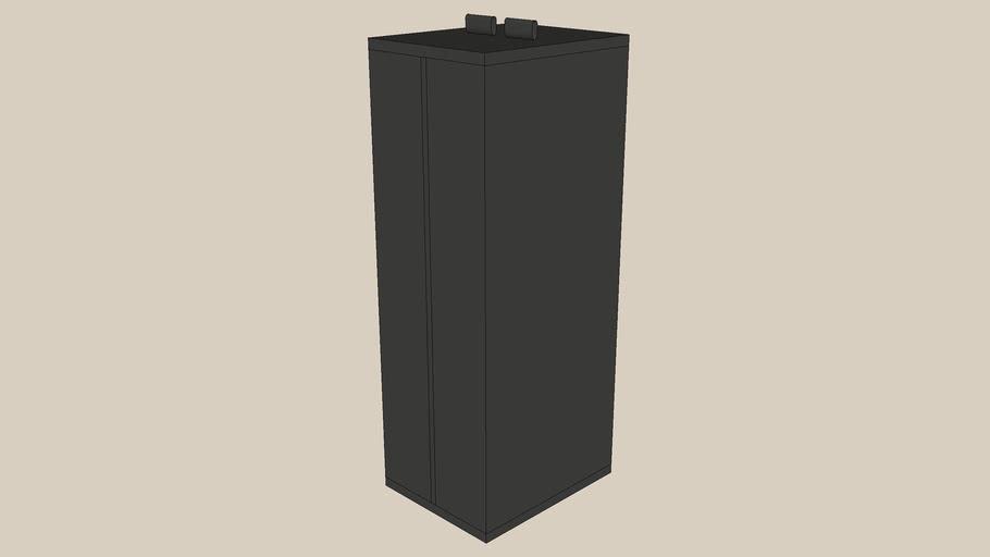 SKUBB clothes bag black