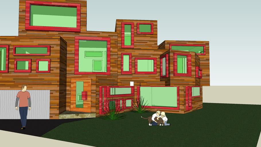 modern box house